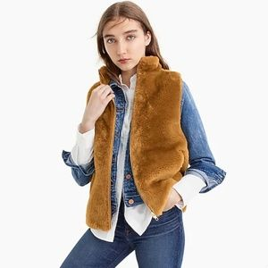 J. Crew Plush Fleece Excursion Vest